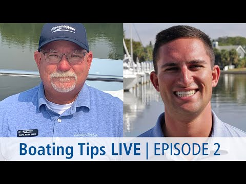 Boating Tips LIVE   Episode 2   Fishing Tips