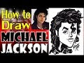 How To Draw A Quick Caricature Michael Jackson