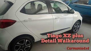 Tata Tiago xz plus detail walkaround (interior+exterior)