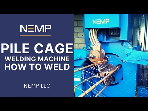 Pile Cage Welding Machine. How to weld pile