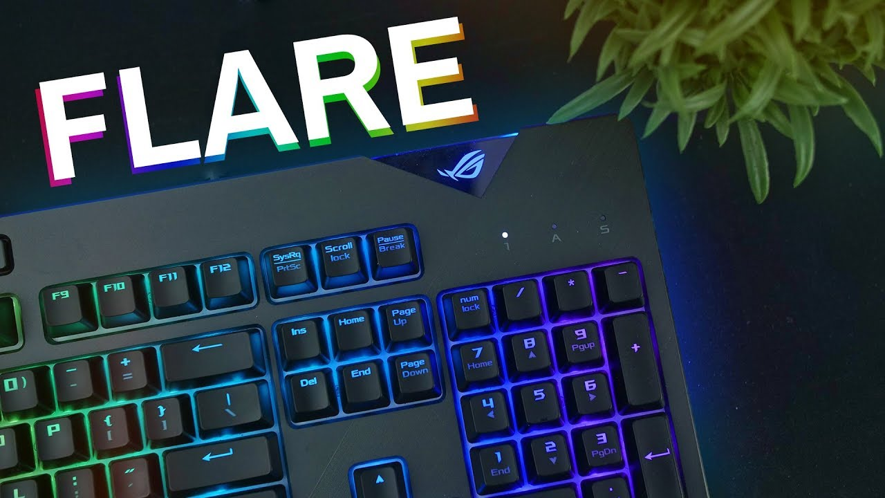 ASUS ROG Strix Flare - Taking RGB Keyboards To The Next Level