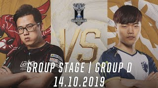 Highlights AHQ vs TL [Vòng Bảng][CKTG 2019][Bảng D][14.10.2019]