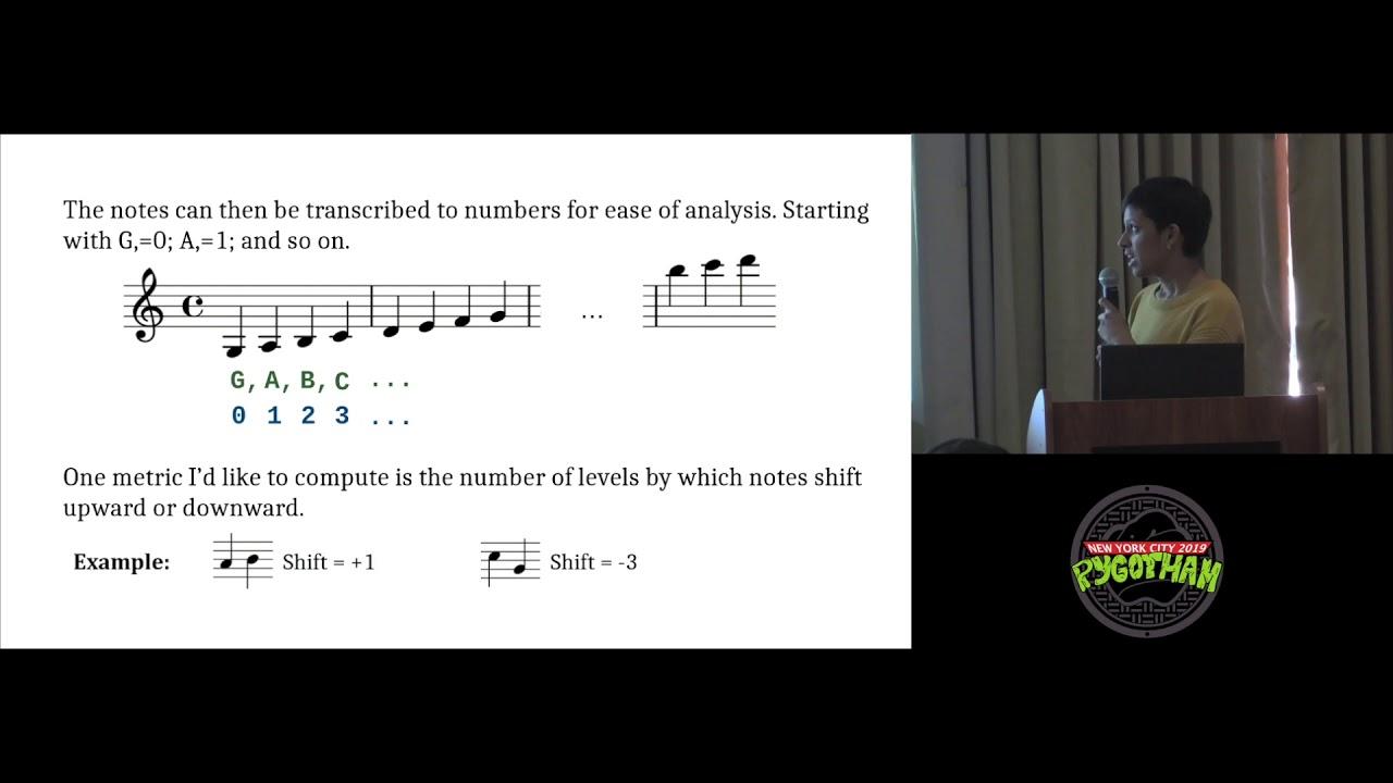 Image from Analyzing the Evolution of Irish Traditional Music using Python