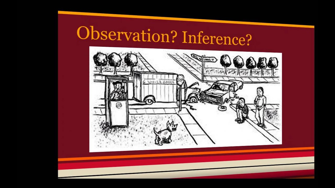 Observation vs Inference Movie - YouTube