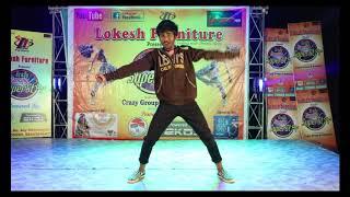 Crazy Dancing Superstar Akshay dance performance