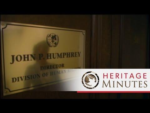Heritage Minutes: John Humphrey