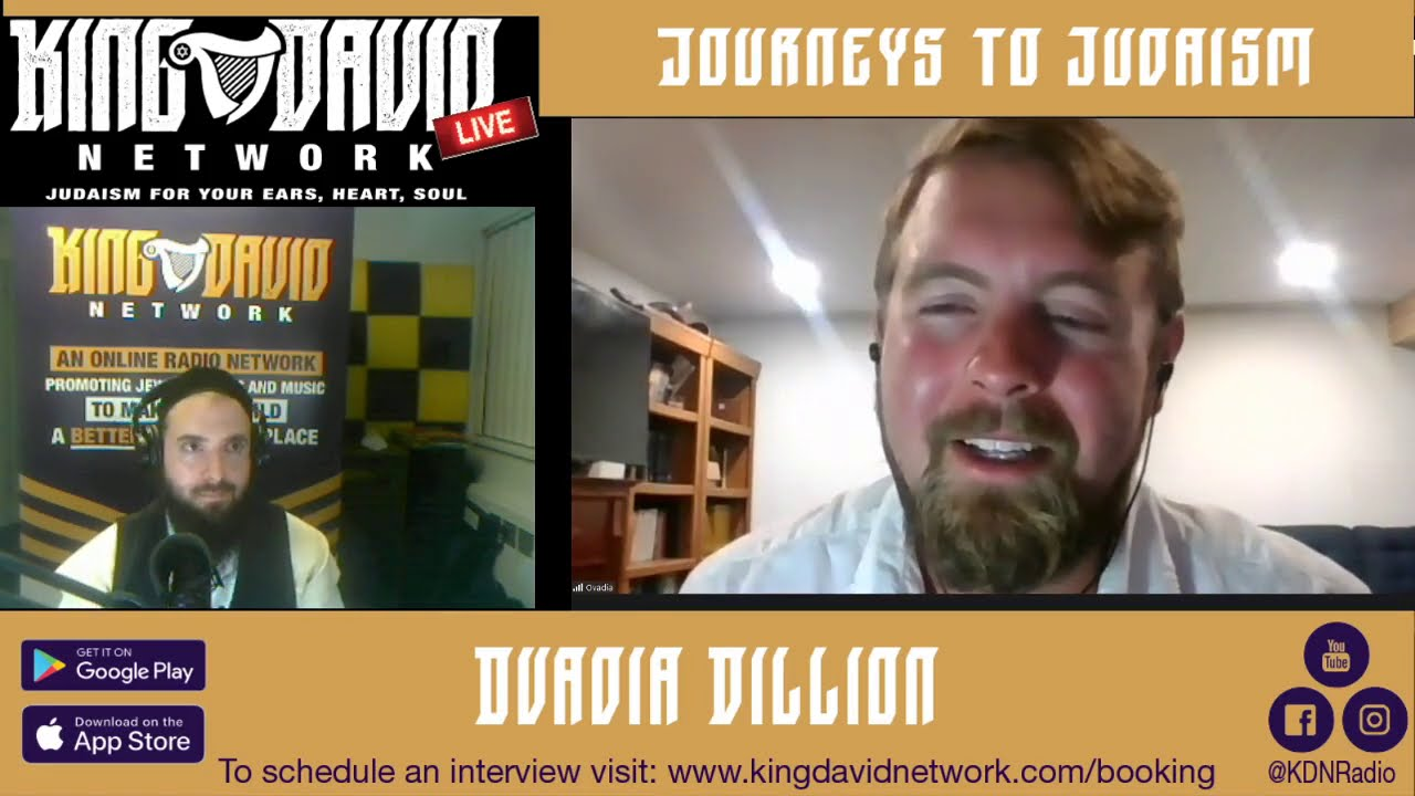 "Ovadia Dillion featured on ""Journeys To Judaism"""