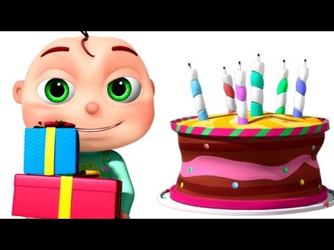 Thumbnail: Happy Birthday Song And Many More | Nursery Rhymes Collection | 3D Animation Kids Songs