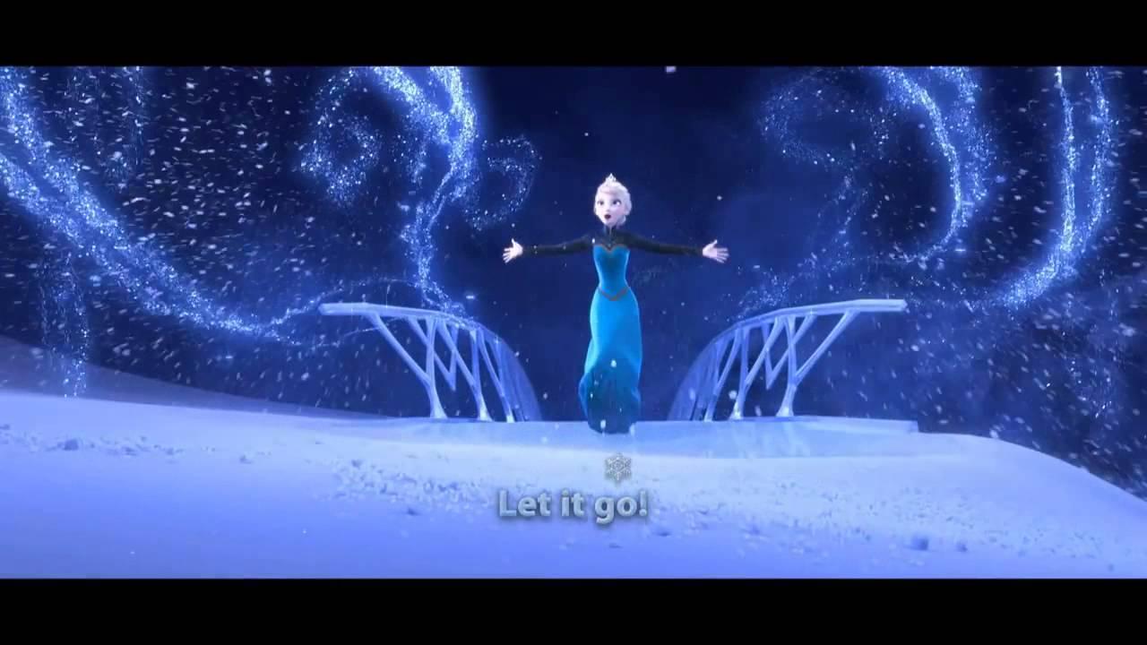 一緒に歌おう♪『アナと雪の女王』「Let It Go<歌詞付Ver.>」イディナ・