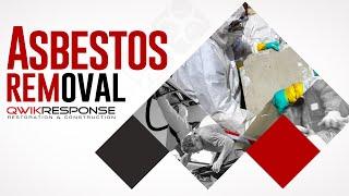 Asbestos Remediation | QwikResponse Santa Barbara  | (805) 962-6626