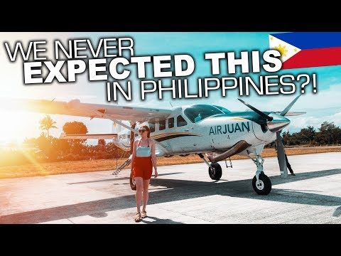 We Got a PRIVATE PLANE in Philippines to see FINN SNOW!