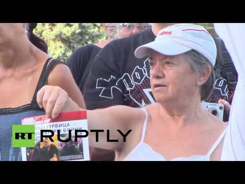 Ukraine: Three month anniversary of Odessa fire deaths marked