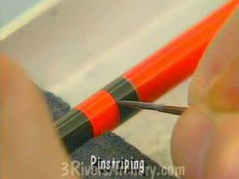 3Rivers Archery Arrow Crafting Tips:  Cresting Arrows
