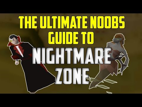 OSRS - The Ultimate Noobs Guide to Nightmare Zone (AFK Melee)
