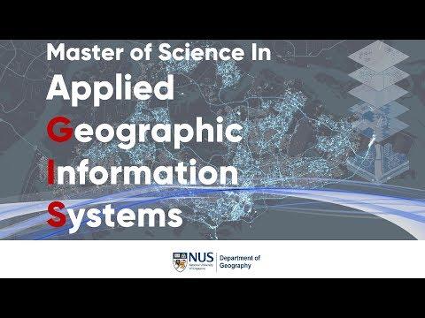 NUS MSc In Applied GIS Programme
