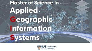 The programme of Master of Science in Applied Geographic Informatio...