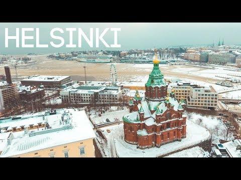 HELSINKI COVERED IN SNOW | Finland Vlog