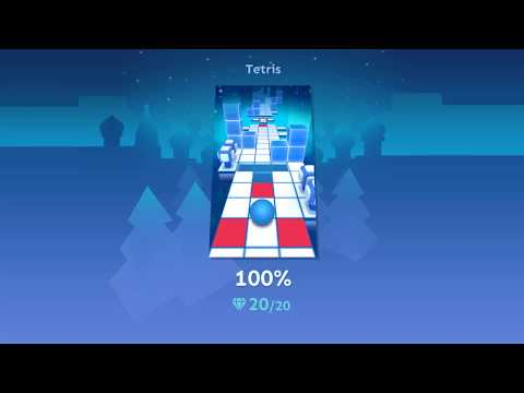 Rolling Sky - Tetris