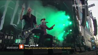 In Flames - 07.The Quiet Place Live @ Rock Am Ring 2015 HD AC3