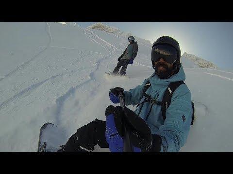 Davraz Kayak Merkezi 3. Etap Bubble dan T-Bara Bol kar....