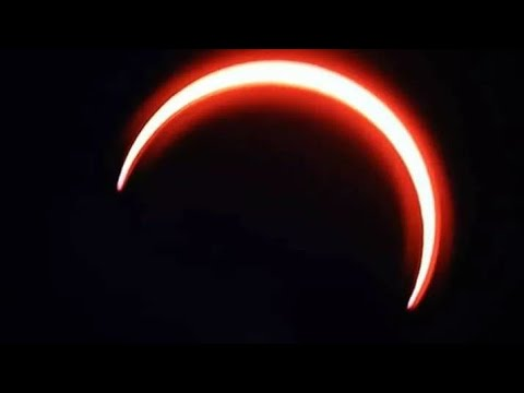 Annular  Solar Eclipse 2020 live   ቀለበታዊ የፀሐይ ግርዶሽ