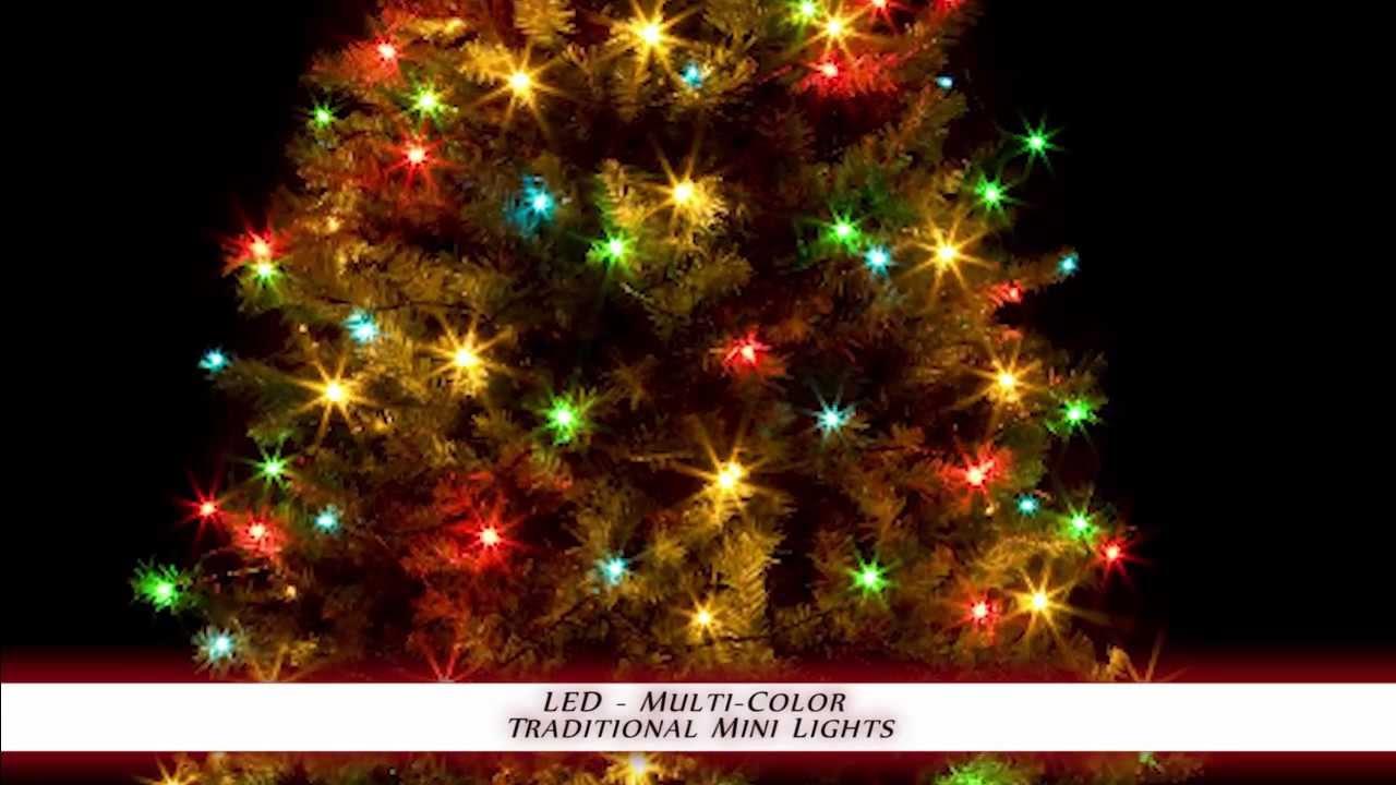 traditional christmas light colors