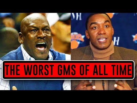 The 4 WORST NBA General Managers OF ALL TIME