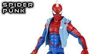 Marvel Legends SPIDER-PUNK Lizard Wave Action Figure Review