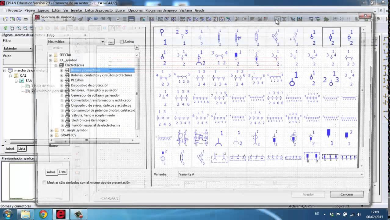 tutorial Nº3 EPLAN Como dibujar un circuito de potencia