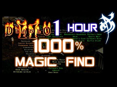 1000% Magic Find (1 hour Run) - Diablo 2