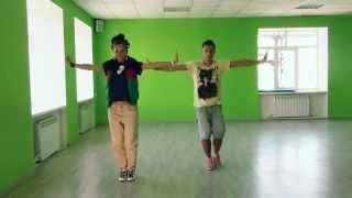 Видео урок танца на песню - Не детское время