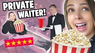 I WENT TO THE BEST REVIEWED MOVIE THEATER ON YELP IN MY CITY (5 STARS ⭐️) - NO POPCORN? 🍿 | Mar