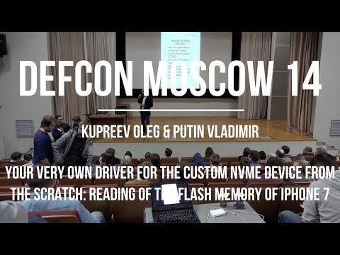 Kupreev Oleg & Putin Vladimir - Your very own driver for the custom NVMe device from the scratch