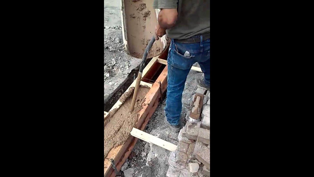 concrete border machine rental