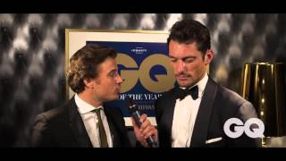 Watch David Gandy Talk Style At The GQ MOTY Awards