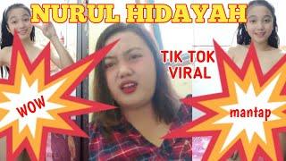 NURUL HIDAYAH VIRAL || TIK TOK || FULL VIDIO ||