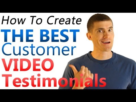 How To Construct Video Testimonials - Free Video Release Form