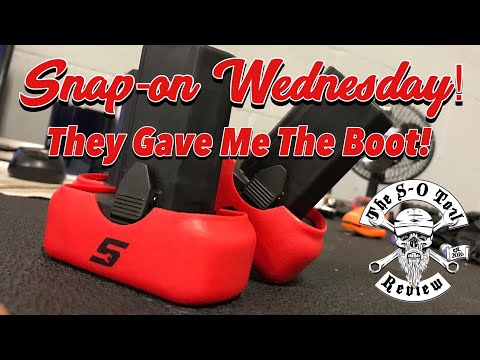 SNAP-ON WEDNESDAY - I Got The Boot Off The Truck! - New Merch!!