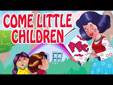 Come Little Children,Come To me,I 'll Teach you ABC | Animated Nursery Rhyme in English