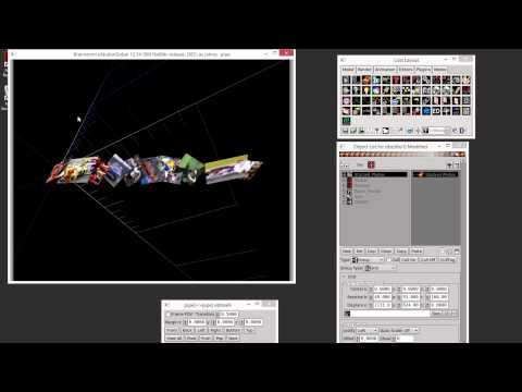 Brainstorm's eStudio: Object Group Type Grid