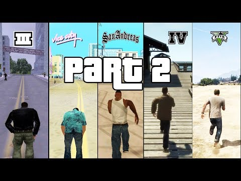SBS Comparison of GTA games! (GTA 3 vs VC vs SA vs IV vs V) - PART 2