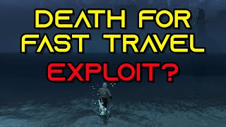 New World: Dying on Purpose to Fast Travel - Exploit? Yes or No?