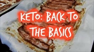 Keto: Keeping it Simple | Day 1| Back to the basics!/HIIT Cardio for ketosis?