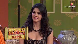 Sunny Leone Kisses Mr. Chadda | Comedy Nights With Kapil | #HappyBirthdaySunnyLeone
