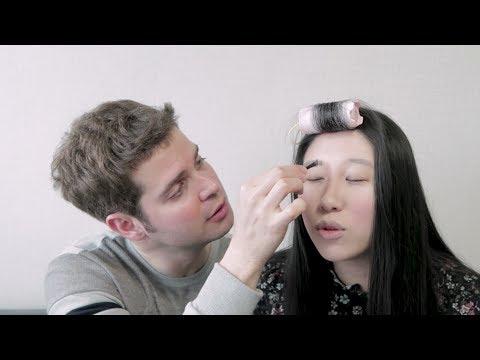 Namorado Maquiando versão Coreia   Coreaníssima