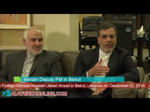 Iranian Deputy FM in Beirut