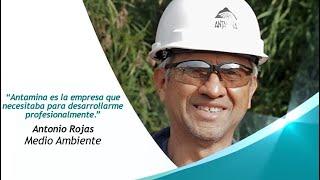 Antonio Rojas comparte su experiencia en Antamina