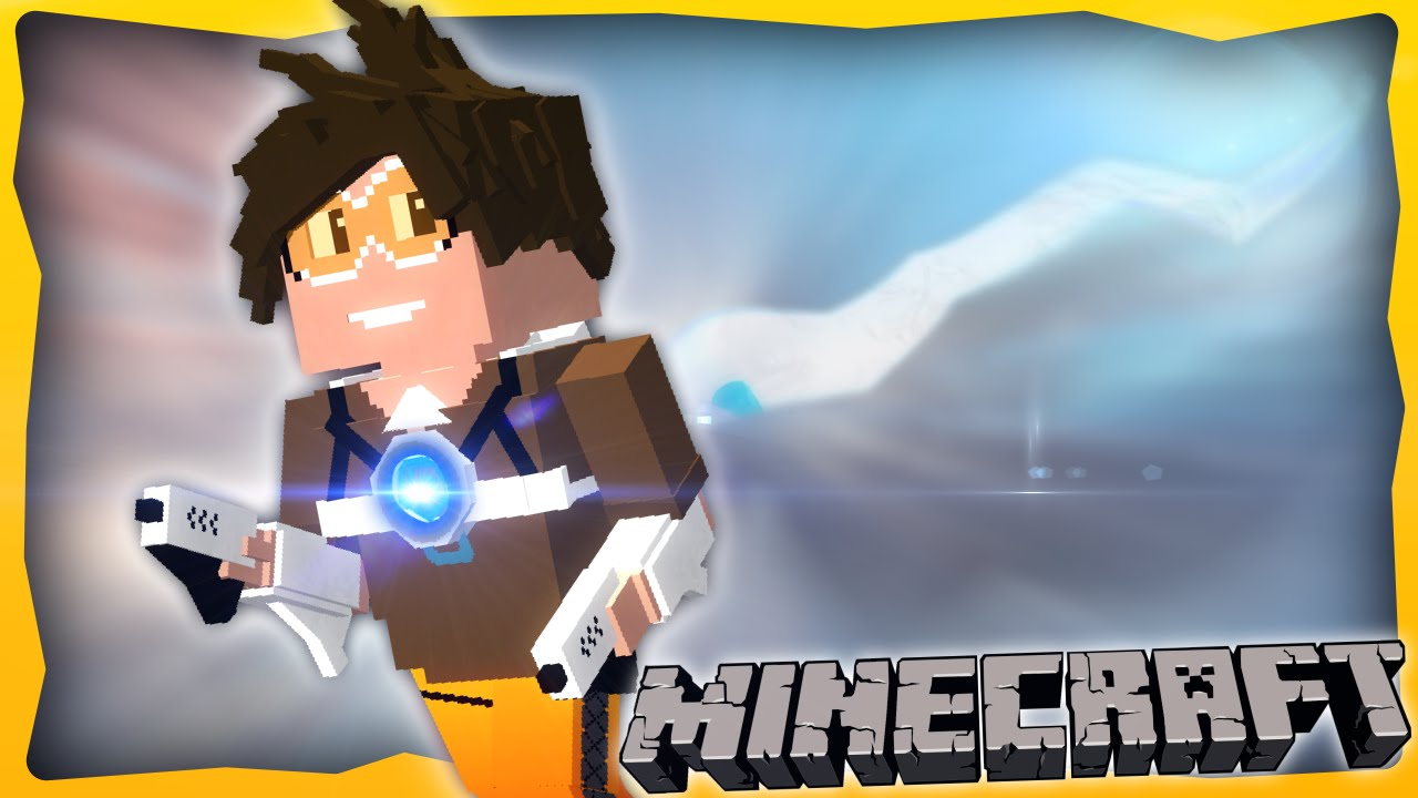 Overwatch In Minecraft Ep 1 Tracer One Command Install