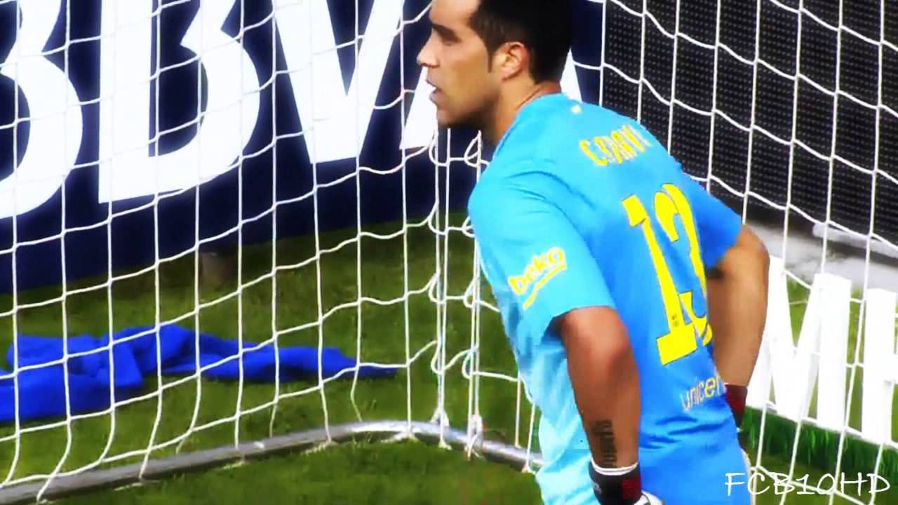 190b88621bb Claudio Bravo - Welcome To Manchester City - Best Saves ○ FC Barcelona  2014 15