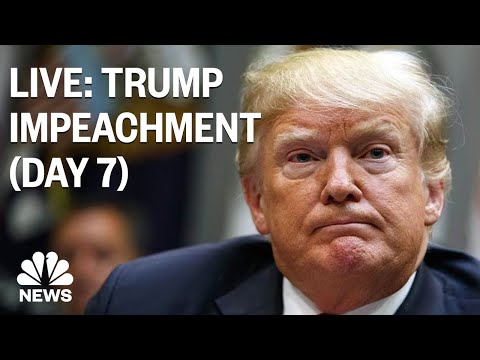 Trump Impeachment Hearings: